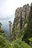 Sanqing mountains stock images