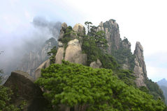 Sanqing mountains stock photography