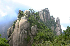 Sanqing mountains Stock Photo