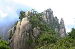 Sanqing mountains stock photo