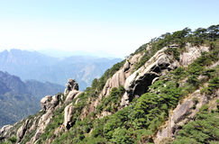 sanqingshan berg royaltyfria foton