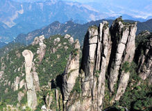 Sanqingshan mountain Stock Images