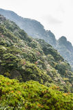 Sanqingshan mountain autumn scenery Stock Photography