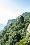 Sanqingshan mountain scenery Stock Image