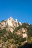 Sanqingshan mountain scenery Stock Photos