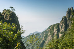 Sanqingshan mountain scenery Royalty Free Stock Photos