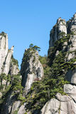 Sanqingshan mountain scenery Royalty Free Stock Photo
