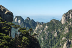 Sanqingshan mountain scenery Royalty Free Stock Photography