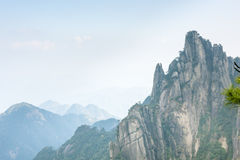 Sanqingshan mountain scenery Stock Photo