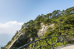 Sanqingshan mountain scenery Royalty Free Stock Image