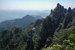 Sanqingshan Mountains Stock Photography