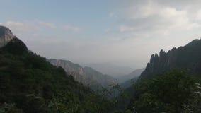 Sanqingshan Nationaal Park in Shangrao, Jiangxi-Provincie, China stock video