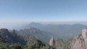 Sanqingshan nationalpark i Shangrao, Jiangxi landskap, Kina arkivfilmer