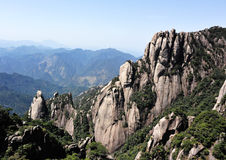 Sanqingshan scenic Royalty Free Stock Images