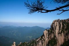 Sanqingshanbergen stock fotografie
