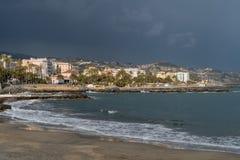 Sanremo, итальянка Ривьера стоковое изображение rf