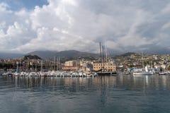 Sanremo, итальянец Ривьера стоковое изображение rf
