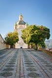 Sanremo, Church of Madonna della Costa Royalty Free Stock Images