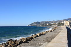 Sanremo Coast Stock Photography