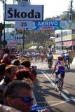 sanremo för 2009 cirkulering milan race Royaltyfri Fotografi