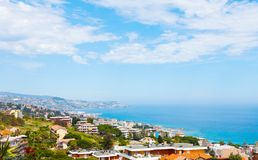 Sanremo, famous town on the Liguria, Itally Stock Image