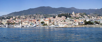 Sanremo, Italiaanse Riviera stock fotografie