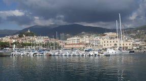 Sanremo, italiano Riviera Fotos de Stock Royalty Free