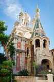 Sanremo (Italy) Russian Church royalty free stock photos