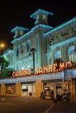 Sanremo Miejski kasyno obrazy stock