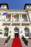 Sanremo Miejski kasyno w Włochy fotografia royalty free