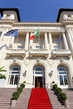 Sanremo Municipal Casino in Italy royalty free stock photography
