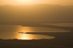 Sanrise At Dead Sea Royalty Free Stock Images