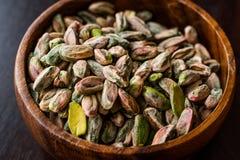 Sans épluché cru de pistache/sans Shell photo libre de droits