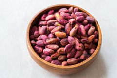 Sans épluché rôti de pistaches/sans Shell/pistaches salées photo stock