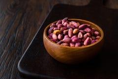 Sans épluché rôti de pistaches/sans Shell/pistaches salées images stock