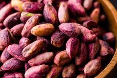 Sans épluché rôti de pistaches/sans Shell/pistaches salées image libre de droits