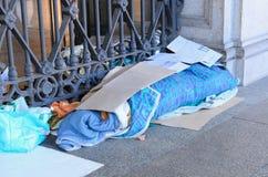 Sans-abri Photos libres de droits