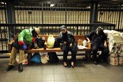 Sans-abri américain Photographie stock libre de droits