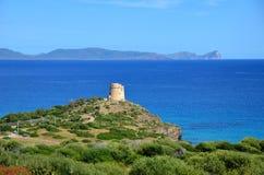Sans antiocco在撒丁岛 免版税库存图片