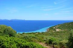 Sans antiocco在撒丁岛 免版税图库摄影