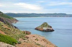 Sans antiocco в Сардинии стоковое изображение