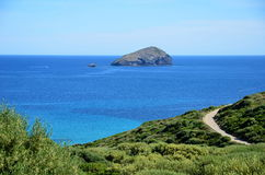Sans antiocco in sardinia Royalty Free Stock Photos