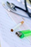 Sans cigarettes Image libre de droits