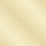 Or sans couture abstrait Art Deco Vector Pattern illustration stock