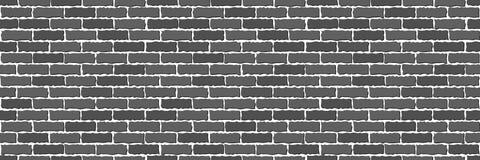 Sans couture de la brique grise illustration de vecteur