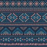 Sans couture ethnique de vintage tribal Images stock