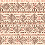 Sans couture ethnique de vintage tribal Photos libres de droits