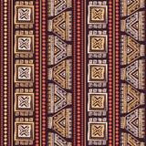 Sans couture ethnique de vintage tribal Photos libres de droits