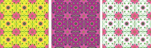 Sans couture floral Image libre de droits