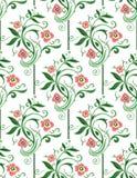 Sans couture floral vert de ressort Photos libres de droits